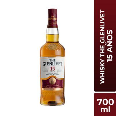Whisky-Glenlivet-15-Años-botella-700ml